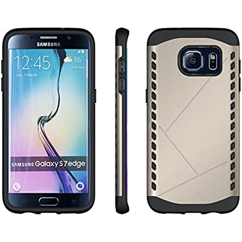 Galaxy S7 Edge Case, Maxdara Heavy Duty Super Slim Dual Layer Defender Shockproof Case Drop Protection Heavy Duty Sales