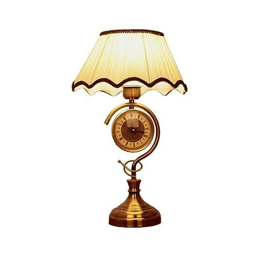 IMFLL Lámpara De Mesa para El Hogar, Lámpara De Escritorio Vintage ...