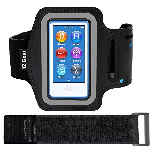 i2 Gear Armband Case for Apple iPod Nano 8G - Black Matte