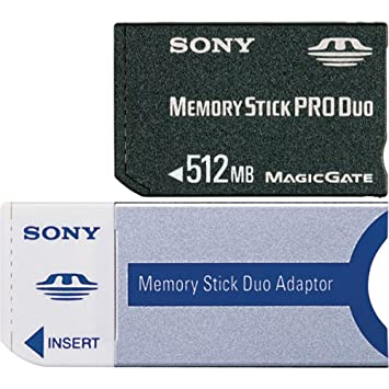 Sony Memory Stick Pro Duo 512MB 0.5GB MS Memoria Flash ...