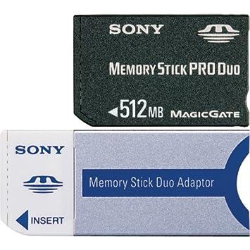 Sony Memory Stick Pro Duo 512MB 0.5GB MS Memoria Flash ...