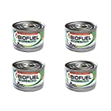 Greenscapes Bio Fuel Reusable Burner Can (4 Pack), White