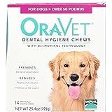 Frontline Merial 14 Count Oravet Dental Hygiene Chew for Large Dogs
