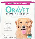 Merial 14 Count Oravet Dental Hygiene Chew Large Dogs