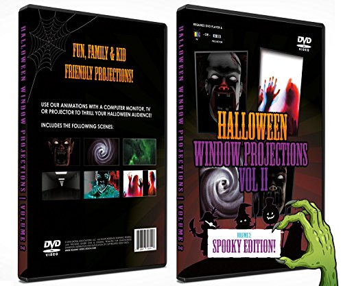 Halloween DVD Digital Decoration Vol 2 - (All New Spooky Edition!) -