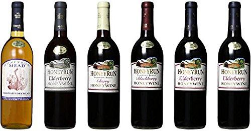 HoneyRun 6 Bottle Sampler Mixed Pack, 6 x 750 mL Wine