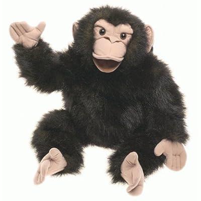 "Plush Chimpanzee Puppet 22\"": Toys & Games [5Bkhe1403635]"
