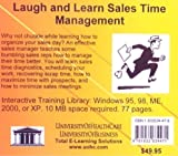 Laugh and Learn Sales Time Management : Sales Time Management and Organization Skills Using the Story of a Bumbling Pharmaceutical Sales Representative, Farb, Daniel and Gordon, Bruce, 1932634479