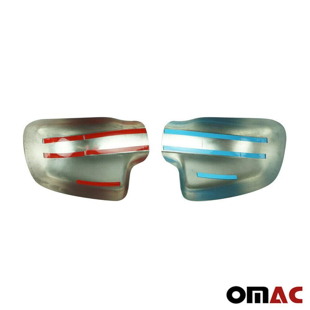 Copri specchietti in acciaio inox cromato per Sandero Stepway dal 2016
