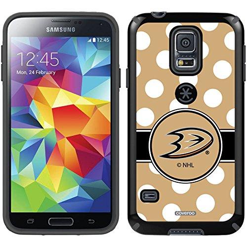 Coveroo Anaheim Ducks Polka Dots Design Phone Case for Sa...