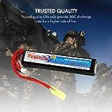 Tenergy Airsoft Battery 11.1V 1000mAh High Capacity