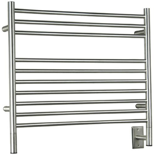 Amba KSP-30 29-1/2-Inch x 27-Inch Straight Towel Warmer, Polished by Jeeves ()
