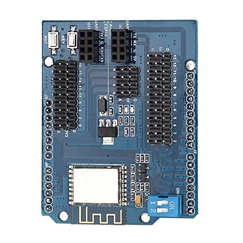 Quickbuying ESP8266 Web Server Port WiFi Expansion Board Compatible -40~ + 125 Degree Centigrade Durable Quality