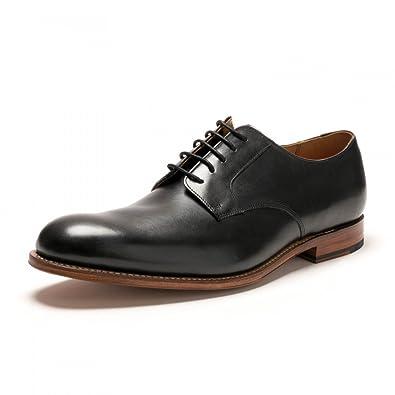 b8b952ed82cc Grenson Liam Black Calf Mens Derby  Amazon.co.uk  Shoes   Bags