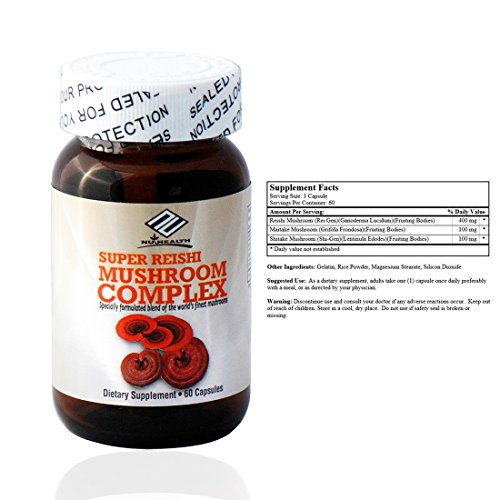 Super Reishi Mushroom Complex (60 Capsules)