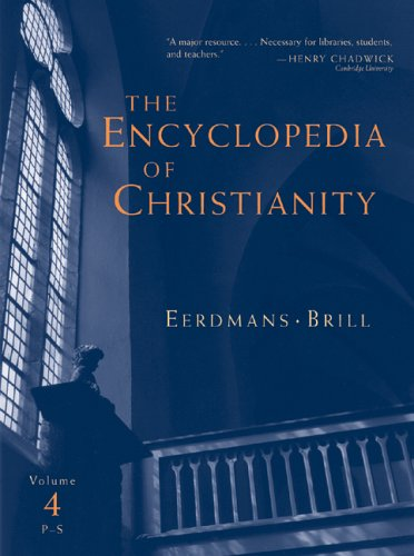 The Encyclopedia Of Christianity, Vol 4