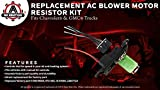AC Blower Motor Resistor Kit with Harness