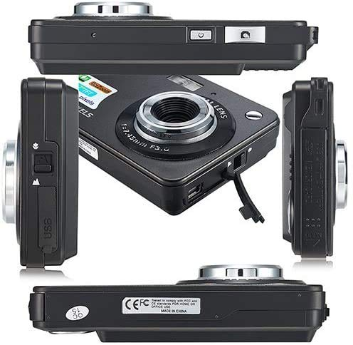 """Dlunsy 2.7"""" LCD Rechargeable HD Digital Camera"""
