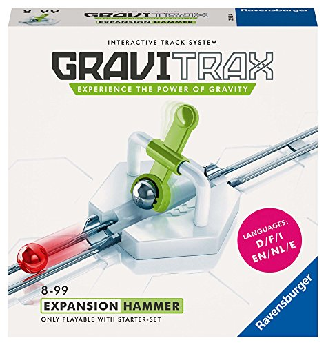 Ravensburger Gravitrax Hammer Accessory - Marble Run & STEM Toy for Boys & Girls Age 8 & Up - Accessory for 2019 Toy of The Year Finalist Gravitrax from Ravensburger
