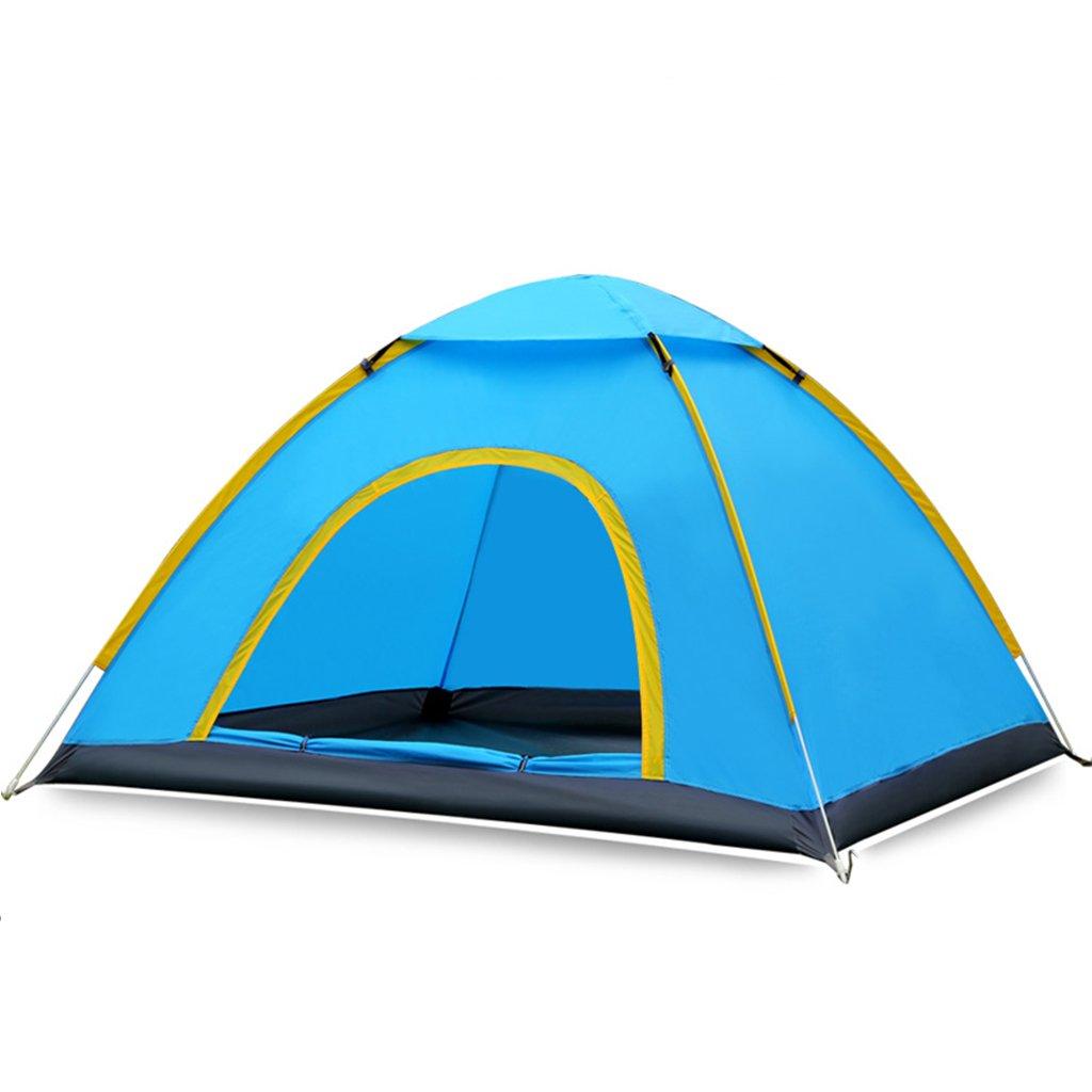 Z-P Tente 2 Personnes Ou 3 Personnes Construisent Automatiquement des Tentes Multi-Personne Anti-Pluie Speed Open Wild Camping Beach Tent Set