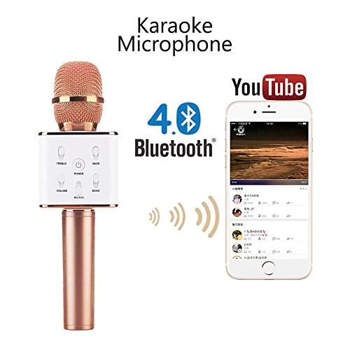 Price comparison product image Amazing Grace Karaoke System-Portable,  Q7 Rose