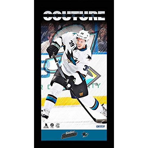 UPC 809418201708, Logan Couture San Jose Sharks Player Profile 10 X 20 Framed Photo