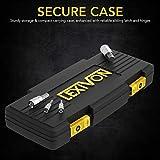 LEXIVON Master HEX Bit Socket Set, Premium S2 Alloy Steel | Complete 32-Piece, SAE and Metric Set | Enhanced Storage Case