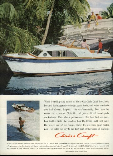 When boarding any Chris-Craft 25-ft Constellation look beyond design ad - Constellation Any