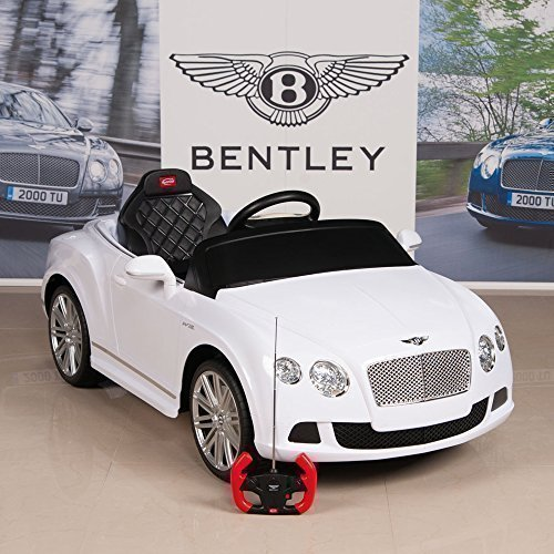 BIG TOYS DIRECT Bentley GTC 12V Kids Ride On Battery