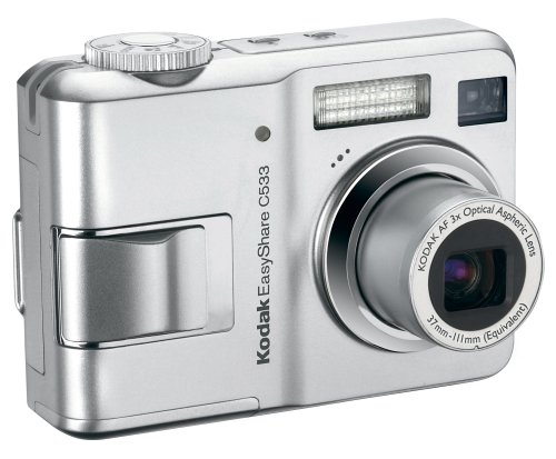 amazon com kodak easyshare c533 5 mp digital camera with 3xoptical