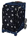 Zuca Shine like the Stars Sport Insert Bag and Navy Frame with Flashing Wheels