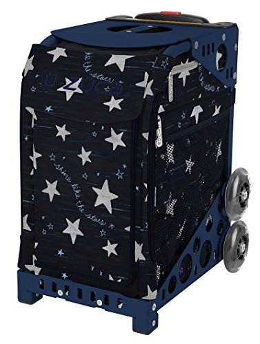 Zuca Shine like the Stars Sport Insert Bag and Navy Frame with Flashing Wheels by ZUCA (Image #6)