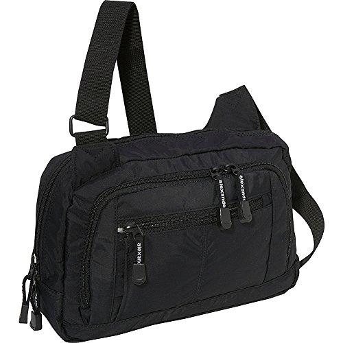 derek-alexander-3-zip-shoulder-bag-black