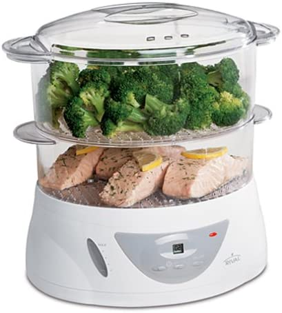 Rival FSD200 8-Quart Digital Food Steamer