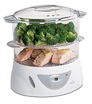 Exceptionnel Rival FSD201 8 Quart Digital Food Steamer
