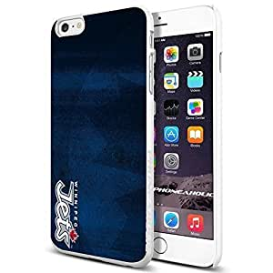 NHL HOCKEY Winnipeg Jets Logo, , Cool iPhone 6 Plus (6+ , 5.5 Inch) Smartphone Case Cover Collector iphone TPU Rubber Case White [By PhoneAholic] by mcsharks