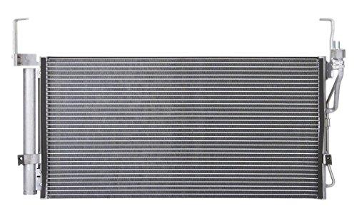 Condenser Hyundai A/c (AC A/C CONDENSER FOR HYUNDAI FITS SANTA FE 2.4 2.7 3.5 L4 4CYL V6 6CYL 3030)
