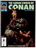 SAVAGE SWORD of CONAN #175...( Magazine...)... Name of Comic(s)/Title?: SAVAGE SWORD of CONAN #175....( Magazine...)..... Publisher: Marvel Comics.... Art by/Featuring/Stories?: Featuring a SAVAGE SWORD of CONAN magazine from the 1980's! Cove...