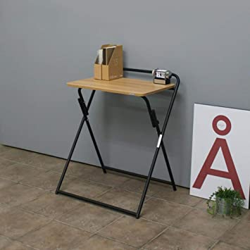 BYZ Lazy Table- Escritorio Plegable Mesa de Escritorio Plegable ...