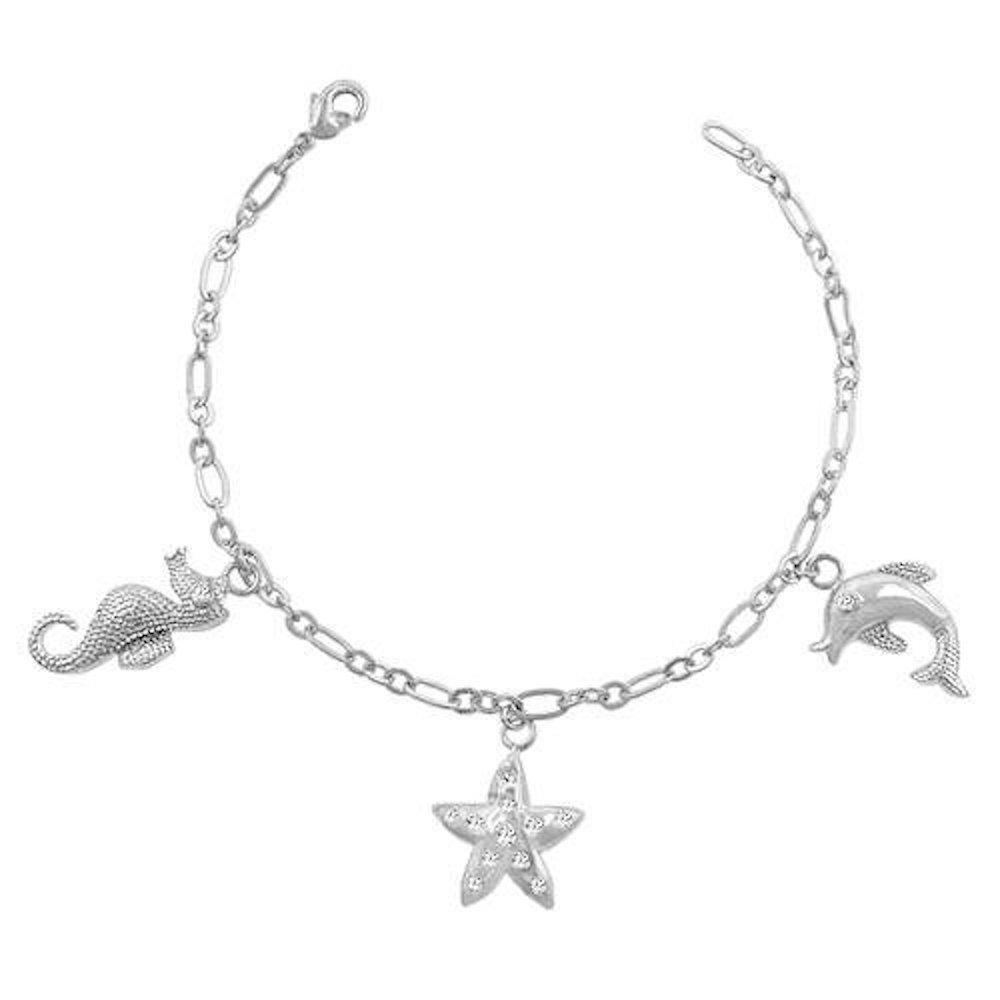 Covet Seashore Charm Bracelet