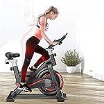 Spin-Bike-Bicicletta-Che-Fila-casa-Coperta-Muto-App-Gioco-Cyclette-Attrezzature-for-Il-Fitness-Cyclette-Biciclette-Color-Black-Size-105X50X102cm