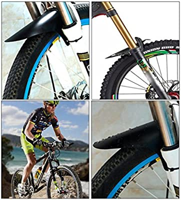 Rear Fender Mud Guard Set Cycling MTB Mountain Bike Bicycle Front Mudguard