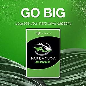 Seagate Bare Drives BarraCuda 1TB Internal Hard Drive HDD – 3.5 Inch SATA 6 Gb/s 7200 RPM 64MB Cache for Computer…