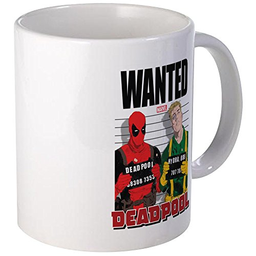 CafePress Deadpool Wanted Mug Unique Coffee Mug, Coffee for sale  Delivered anywhere in USA