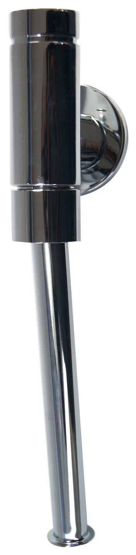 """SCHELL 024760699 Urinal-Spü larmatur SCHELLOMAT BASIC, DN15 , Urinal Druckspü ler ½ """" , mit Drucktaster , max. 0,3l/s, 0,8 - 5bar, 1 - 6l , Spü lrohr ,18 x 200mm, Rosette, Spü lrohr-Innenverbinder, ohne Absperrventil SCH024"""