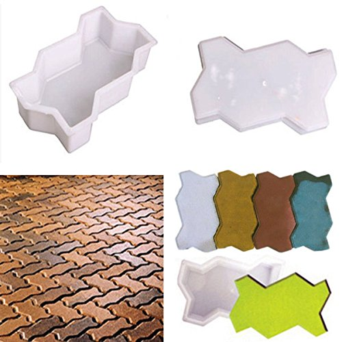 2pcs-wave-shape-garden-diy-walking-path-maker-cement-brick-mold