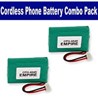 GE 5-2522 Cordless Phone Combo-Pack includes: 2 x EM-CPH-464D Batteries