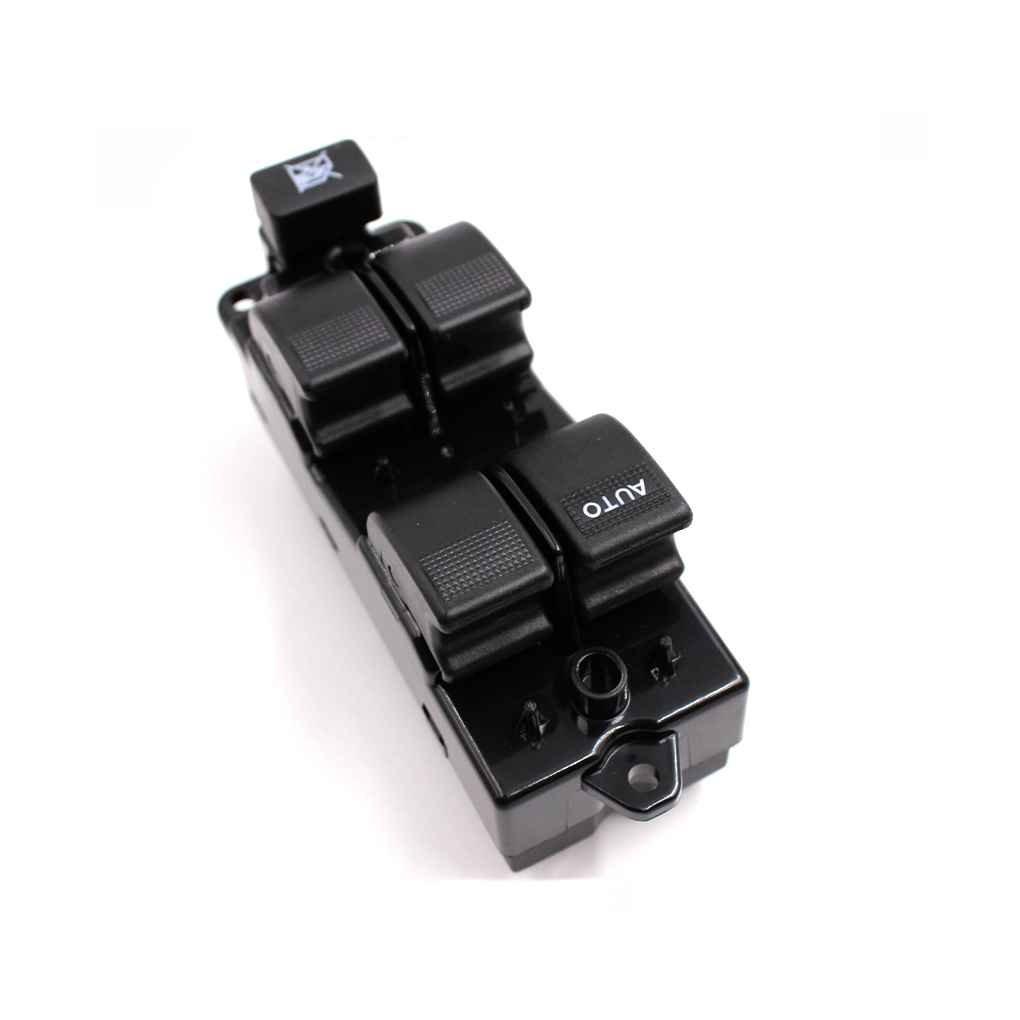 Ben-gi Interruptor del elevalunas el/éctrico GJ6A-66-350 para el Interruptor Principal Mazda6 2003-2012 Ventana de Coche el/éctrico de Control Lifter