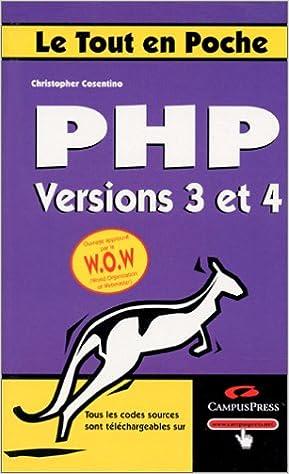 Téléchargement PHP versions 3 et 4 pdf, epub ebook