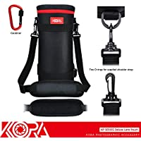 Kora KP-XXL Deluxe Camera Lens Pouch Bag Case Protector Cover 124mm x 310mm for Sigma 150-500mm 150-600mm Tamron SP 150-600mm Lens JBL Xtreme Portable Wireless Bluetooth Speaker